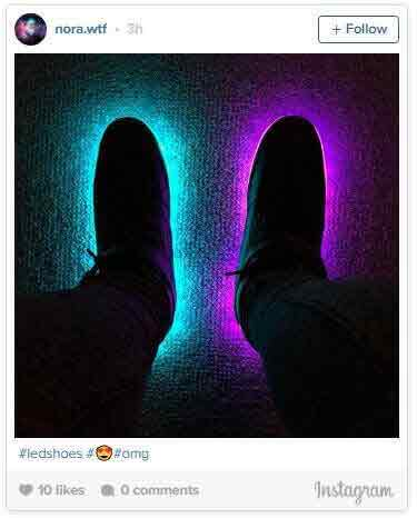 bright shoes instagram review