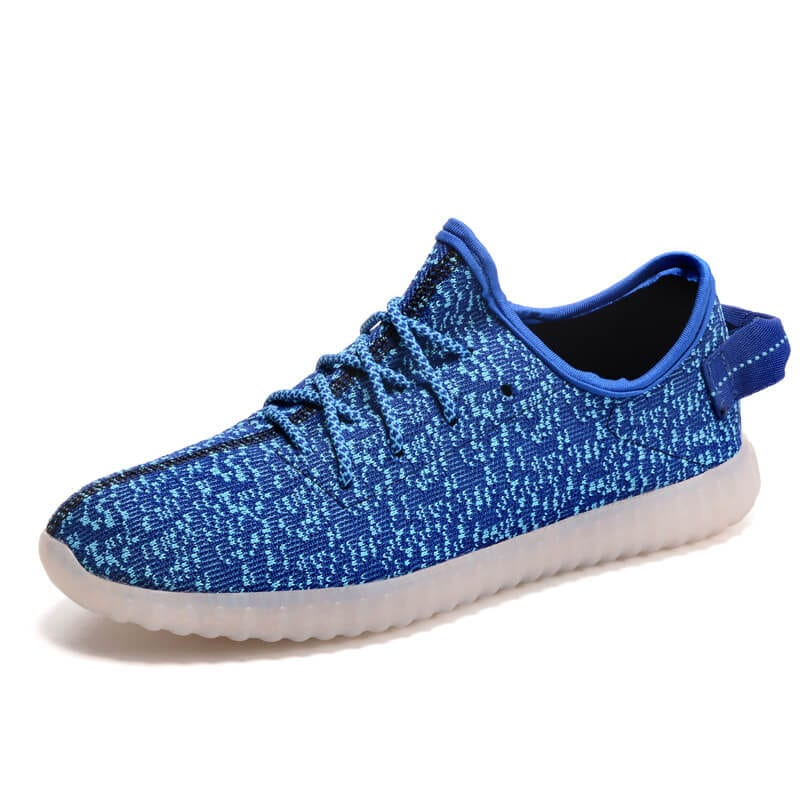 light up trainers blue