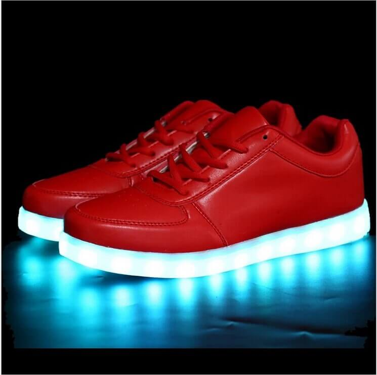 Red led shoes 5 – Bright Led Shoes