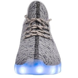 yeezy gray led shoes