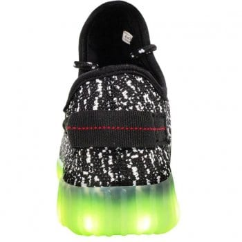 yeezy light up shoes back