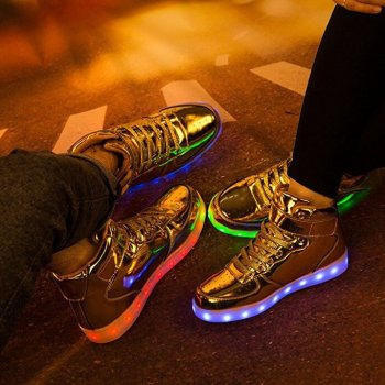 gold led light up shoes (8)