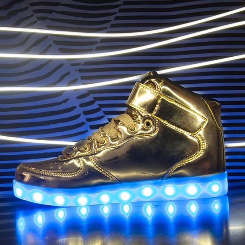 cdaab1ede7 LED-Shoes-men-Light-Up-Luminous-Leisure-Casual-sneakers-boots-tenis-led- Unisex-Hot-Fashion-superstar