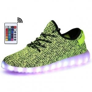 green led shoes trainers with remote