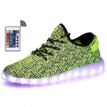 green light up shoes with remote control