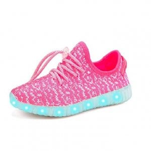 led shoes pink (4)