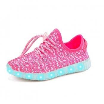 led shoes pink (4)