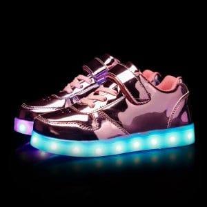 led shoes platinum strap (1)