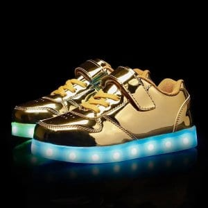 led shoes platinum strap (11)
