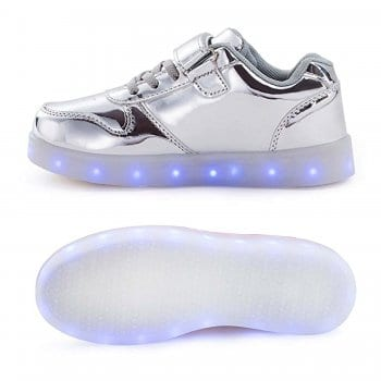 led shoes platinum strap (4)