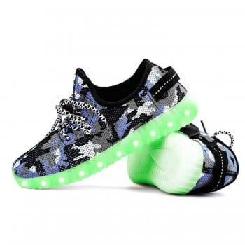 led shoes yeezy camo (2)
