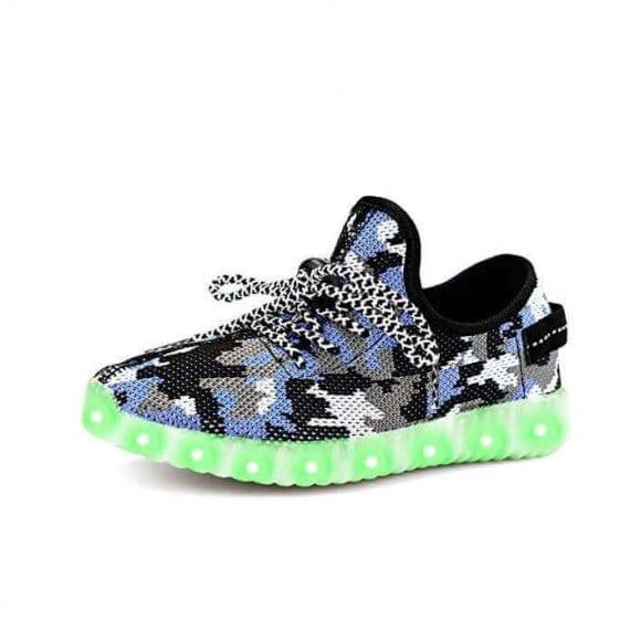 led shoes yeezy camo (3)