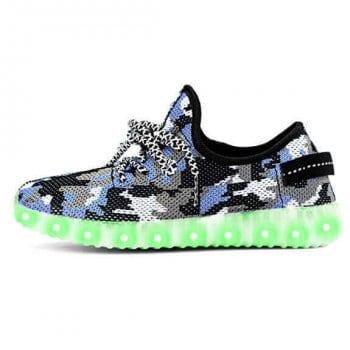 led shoes yeezy camo (5)