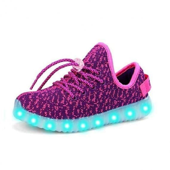 led shoes yeezy purple (1)