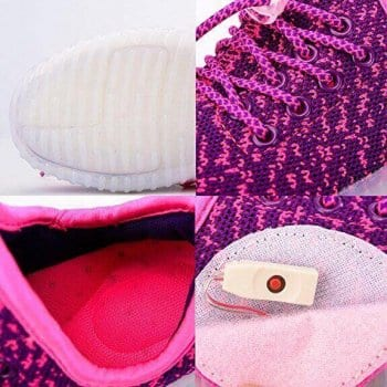 led shoes yeezy purple (4)
