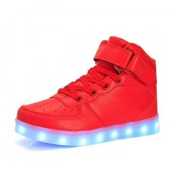 red led shoes with remote