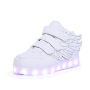 white wings led shoes